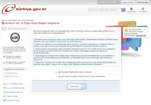 e-devlet-ikametgah